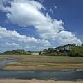 River Otter Estuary,  Budleigh Salterton, Devon, Southwest England, Uk Gb by Peter Barritt