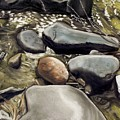 River Rock Formations by Brenda Williams