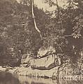 River Scene by G.b. Gething