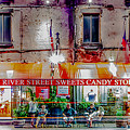 River Street Sweets Candy Store Savannah Georgia   by Alex Grichenko
