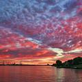 River Sunset by Paul Bartoszek