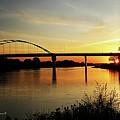 River Sunset by Yumi Johnson