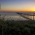 River Sunsrise - Florida Sunrise Scenic by Rob Travis
