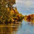 River Thames At Staines by Leigh Kemp