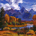 River Valley by David Lloyd Glover
