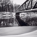 River View B And W by Steve Gadomski