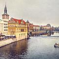 River Vltava by Svetlana Sewell