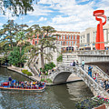 River Walk View San Antonio by Tod and Cynthia Grubbs