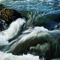 River With Rapids by Jozef Jankola