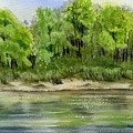 Riverbank by Mary Tuomi