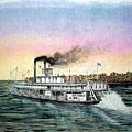 Riverboat Bald Eagle by Richard Hall