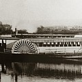 Riverboat  Mayflower Of Plymouth   Susquehanna River Near Wilkes Barre Pennsylvania Late 1800s by Arthur Miller
