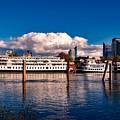Riverboats Of Sacramento by Mountain Dreams