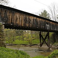 Riverdale Road Covered Bridge by Jeff Roney