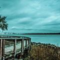 Riverfront Park Boardwalk by Yvette Wilson