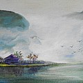 Riverscape No 5 by Min Wang