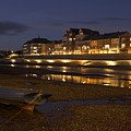 Riverside Reflections by Hazy Apple
