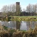 Riverside Walk - Burton On Trent by Rod Johnson
