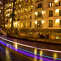 La Mansion Del Rio Riverwalk Christmas by Michael Tidwell