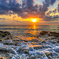 Riviera Beach Sunrise  by Lance Raab