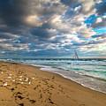 Riviera Beach Sunrise by Lynn Bauer