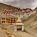 Rizong Monastery Ladakh Jammu And Kashmir India by Rudra Narayan  Mitra