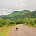 Road In Khondowe, Malawi by Marek Poplawski