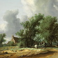 Road In The Dunes With A Passenger Coach After The Rain1631 by Hendrik Goltzius