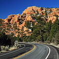 Road Through Red Canyon State Park by Pierre Leclerc Photography