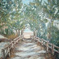 Road To Beach by Joseph Sandora Jr