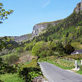 Road To Benbulben County Leitrim Ireland by Teresa Mucha