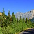 Road To Colin Mountain Range, Alberta Canada by Ola Allen