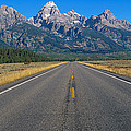 Road To Grand Teton National Park by Panoramic Images