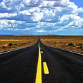 Road To Meteor Crater by Lou  Novick