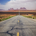 Road To Monument Valley by Joan McCool