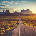 Road To Monument Valley by Teri Virbickis