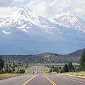 Road To Mt Shasta California Dsc5057 by Wingsdomain Art and Photography