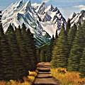 Road To Olympus by Doria Dieckmann