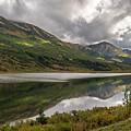 Road To Seward, Alaska by Brenda Jacobs