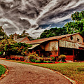 Road To Shiloh Farm's Barn by Frank Feliciano