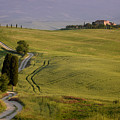 Road To Terrapille In Tuscany by IPics Photography