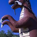 Roadside Dinosaur by Garry Gay