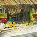 Roadside Fruit Stand by Ileana Carreno