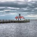 Roanoke Marshes Lighthouse, Manteo, North Carolina by Greg Hager