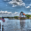 Roanoke River Lighthouse No. 2 by Greg Hager