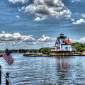 Roanoke River Lighthouse No. 2a by Greg Hager