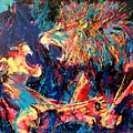 Roar Large Work by Angie Wright