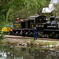 Roaring Camp Steam Train by Michele Myers