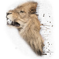 Roaring Lion No 04 by Maria Astedt