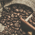 Roasted Coffee Beans In Close-up  by Jorgo Photography - Wall Art Gallery